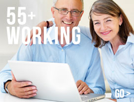 55+ working